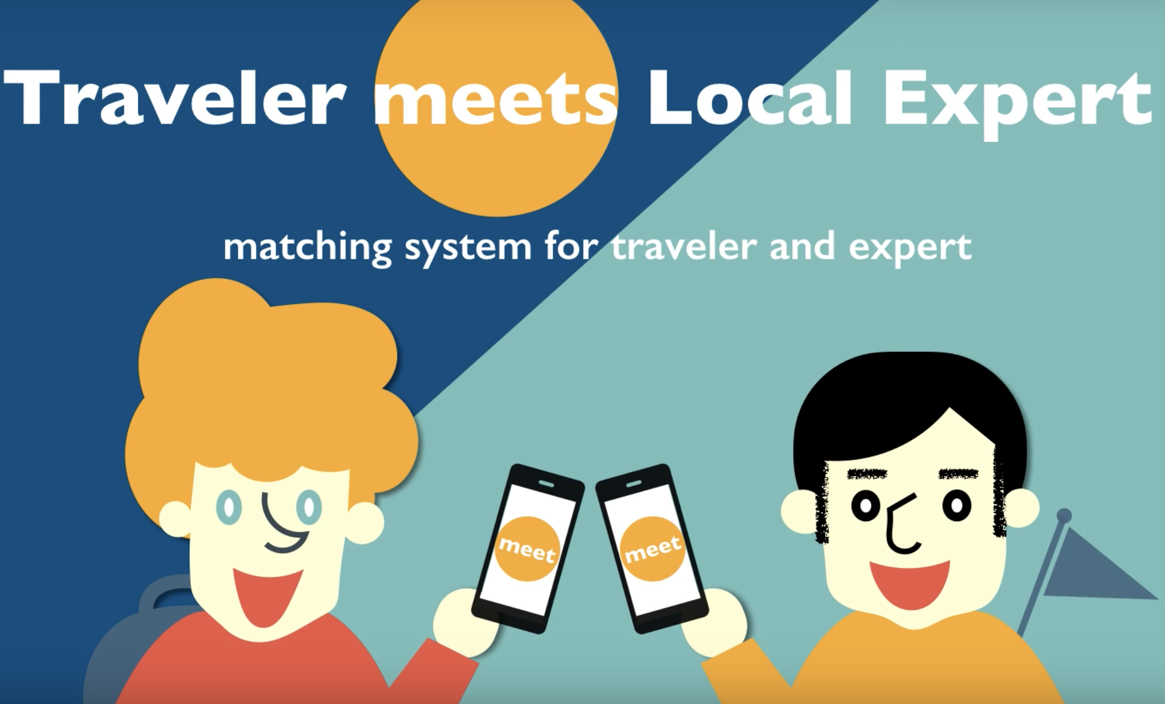 アイディアを形に!Traveler meets Local Expert